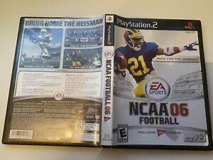 NCAA Football 06 (Sony PlayStation 2, 2005) CIB
