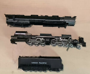 N Scale Key Models Brass Union Pacific Challenger 4-6-6-4. Needs Work. Used