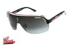 CARRERA TOPCAR 1 SUNGLASSES KBO PT BLACK/RED/CRYSTAL FRAME GREY GRADIENT LENS