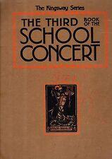 The THIRD SCHOOL CONCERT BOOK Sheet Music & Fun SUIT TEACHER Co-Ordinator or YOU