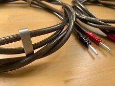 New Chord Epic XL Speaker Cable 1.5m Pair Banana plug in bag-RRP £600