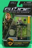 "Duke Desert Ambush G.I. Joe The Rise of Cobra Movie 4"" Action Figure 09 I3"