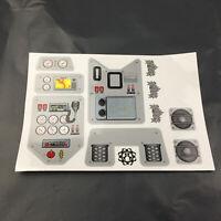 KYX Dekorativ Aufkleber Sticker Anzug Für 1/10 Axial Wraith RC Crawler Car Teile