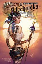 LADY MECHANIKA TABLET OF DESTINIES #6 BLUERAINBOW L/E 500 BENITEZ MCTEIGUE VF
