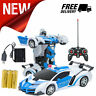 Car RC Robot Remote Control Toy Transformation Sports Transformers Cars Toys New
