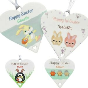 Personalised Easter Gifts Happy First Easter Babies 1st Decoration Boys or Girls