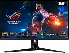 Brand New - ASUS ROG Swift PG32UQ 32'' 1ms, Gaming Monitor, 144 Hz, IPS, G-SYNC