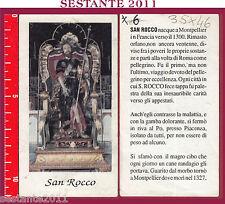 181 SANTINO HOLY CARD S. SAN ROCCO MEDIA CONSERVAZIONE
