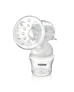 Nuby New-Mum Handheld Manual Breast Pump / Baby Collection Bottle / Safe Suction