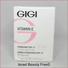 Gigi Vitamin E Oil Free Moisturizer SPF17 for Oily and Large Pore Skin 50ml