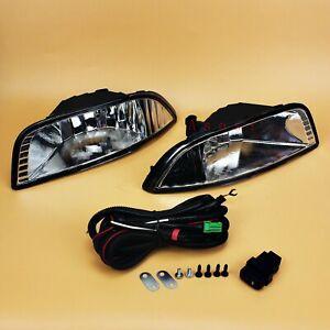 For Mitsubishi Lancer EX 2007 - 2015 Bumper Fog Light Set w/Bulb Switch Wiring