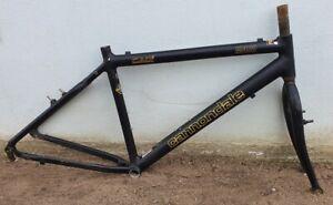 "CANNONDALE M400 MTB Rahmen + Gabel frame set 18"" M 45,7cm 26"" Retro Vintage Kult"