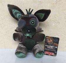 "New FNAF Five Nights At Freddy's Target Phantom Green Foxy 6"" Plush Toy"