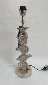 Lampenfuss für Stehlampe  Tischlampe Muscheln   51 cm  COLMORE  Neu