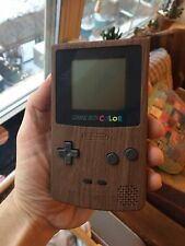 Wood Grain Gameboy Color Nintendo