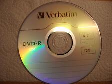 1 Stück Verbatim DVD-R Rohling in Papierhülle