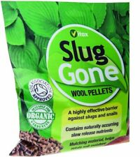 Vitax Slug Gone Wool Pellets 1Ltr Organic Natural Repellent Barrier Slugs Snails