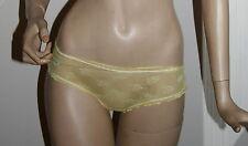Intimo slip  colore giallo guess lingerie tg 44 pizzo e cotone
