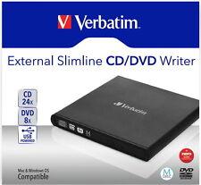 Verbatim Brenner extern für CD / DVD / M-Disc schwarz