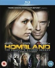 Homeland - Series 2 - Complete (Blu-ray, 2013, 4-Disc Set)