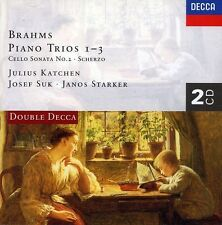 Julius Katchen, J. B - Pno Trios 1-3 Cello Sonata No.2 [New CD] Holland - Im