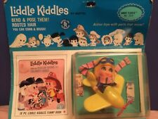 VINTAGE MATTEL # 3514 LIDDLE KIDDLE WINDY FLIDDLE DOLL SET NOS
