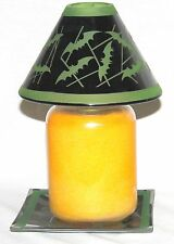 Yankee Candle Witches Ball Batty Bats Candle Shade with Tray - New 2016
