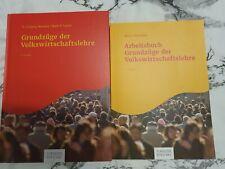 Grundzüge der Volkswirtschaftslehre 6.Auflage mankiw und Arbeitsbuch 5. Auflage