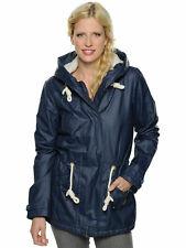 O'NEILL Womens Blue Originals Sherpa Fleece Lined Hooded Jacket Ladies XL BNWT