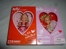 New Kelly My Lil Valentine Doll Lot Nikki Target Special Edition Mattel 55420 >