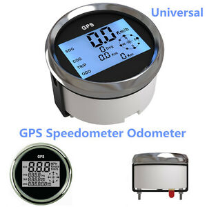 New 9-32V GPS Digital Speedometer Odometer Gauge For Auto Car Truck Marine 85mm