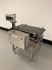 More details for garvens sl100 id1+ mettler toledo id1 conveyor belt scale checkweigher 120kg