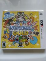 NINTENDO 3DS : WARIOWARE GOLD,BRAND NEW VIDEO GAME,FACTORY SEALED,Wario,Mario