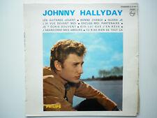 Johnny Hallyday vinyle 25cm Les Guitares Jouent N°6