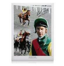 Horse Racing legend Lester Piggott and Nijinsky - signed print