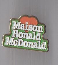 Pin's Maison Ronald Mac Donald's