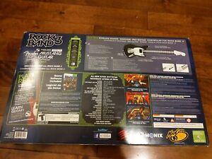 Mad Catz Rock Band 3 Fender Mustang Pro Guitar (Microsoft Xbox 360) - BRAND NEW