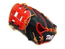 TWB Classic 12.5 inch LHT Black Red Baseball Softball First Base Mitt