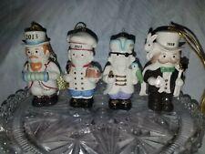 Lenox Annual Nutcracker Ornament Yuletide Nutcracker Lot of 4