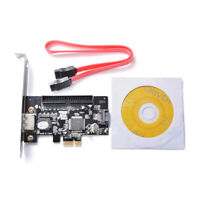 PCI-E Express to SATA II eSATA IDE Expansion Adapter Card JMB363 ChipSet AC697