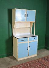 Tall Vintage Metal Kitchen Cabinet, Larder Cupboard, Retro, Beach Hut, Refurb