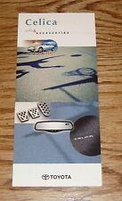 Original 2004 Toyota Celica Accessories Foldout Sales Brochure 04