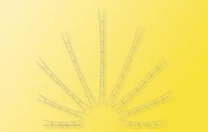 Viessmann 4158 Universal Contact Wire 360-400 MM, 3 Piece, H0
