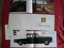 N°4499 / DAIMLER catalogue limousine june 1968   english text