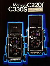 Mamiya c220f c330s prospectus brochure - 0363