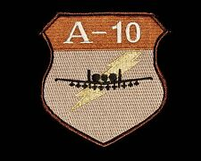 US Air Force A-10 Thunderbolt / Hawg Desert OEF / OIF Desert Storm Combat Patch
