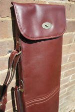 GUARDIAN LEATHER RIFLE SLIP, CHESTNUT BROWN CASE, LEATHER GUN SLIP, G-R-C