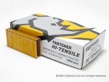 """Hardwood Flooring Staple Galv 1-1/2"""" 15-1/2 Ga 3000 Count Staples"""