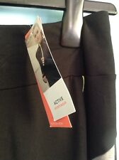 BNWT M&S Ladies ExerciseTrousers, Joggers, Active Sportswear,Size 10 SHORT,BLACK