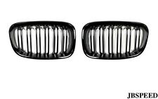 BMW DUAL Slat GLOSS BLACK GRILL GRIGLIA ANTERIORE for f22